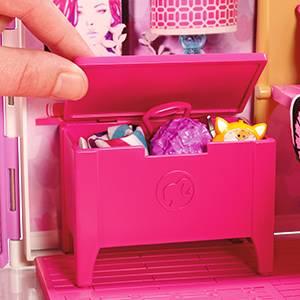 Casa de vacaciones portátil de Barbie
