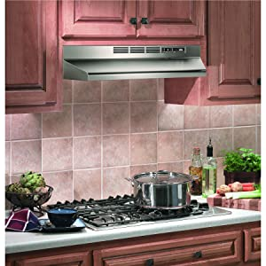 Amazon Com Broan Nutone 413004 Range Hood 30 Inch Stainless Steel