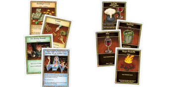 game; board game; card game; red dragon