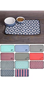 pet food mat,pet mat for food and water,absorbent pet mat,microfiber pet mat