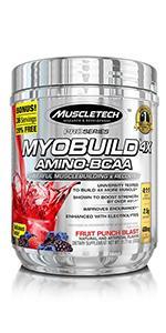 myobuild, amino acid, bcaa powder