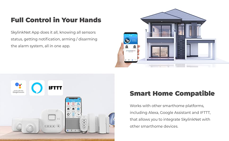full control in your hands, smart home compatible