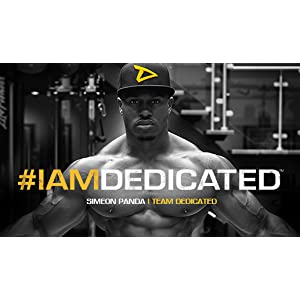 Dedicated, Nutrition, Simeon Panda, Protein, Fitness, BCAA, Preworkout, Lift, Unstoppable, Bodybuild
