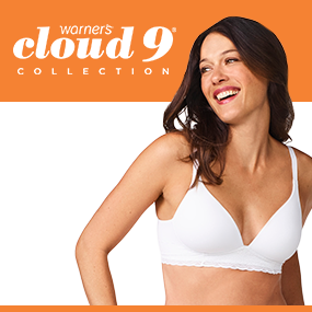 684efd64d9 Warner s Cloud 9 Wirefree Triangle Bra at Amazon Women s Clothing store