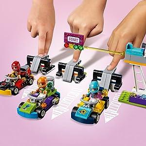 Lego Friends Das Große Rennen 41352 Kinderspielzeug Amazonde