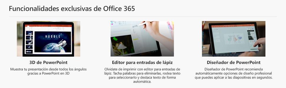 Microsoft Office 365 - Paquete Hogar, Para 5 PCs/Macs + 5 tabletas, 1 año: Microsoft: Amazon.es: Software