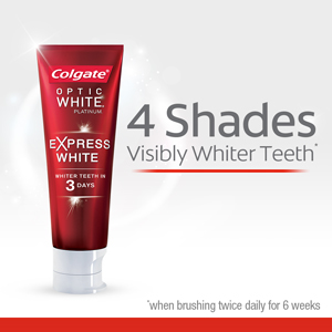 colgate optic white danmark