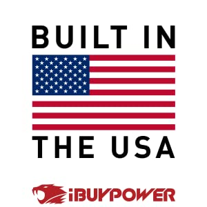 ibuypower gaming pcs made in the USA
