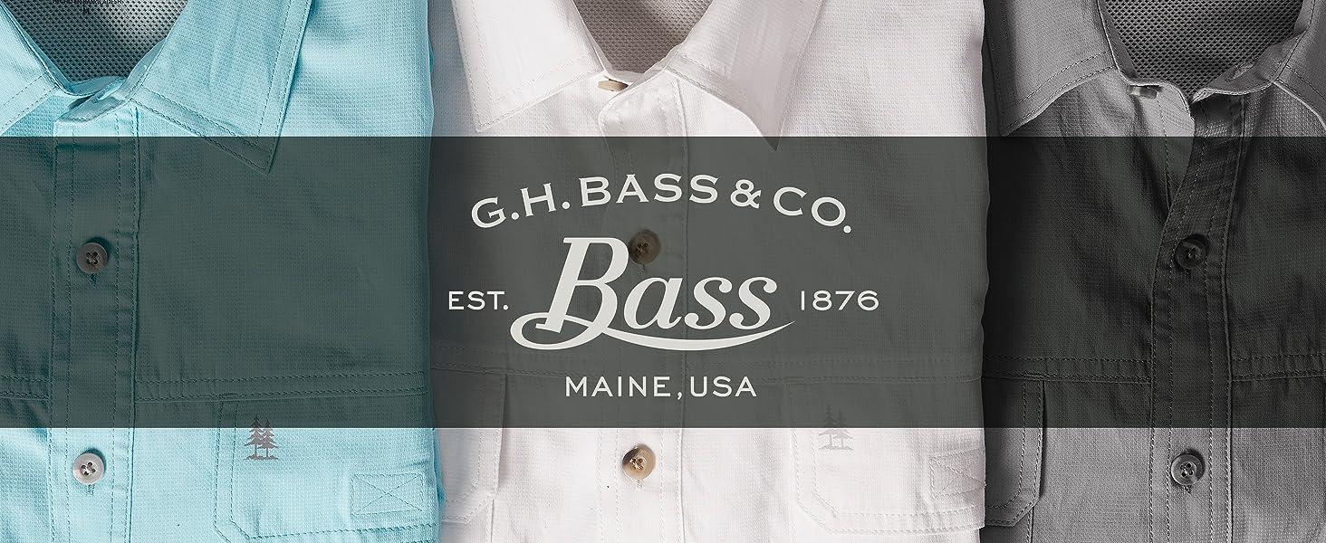 BASS SS FISHING SHIRT