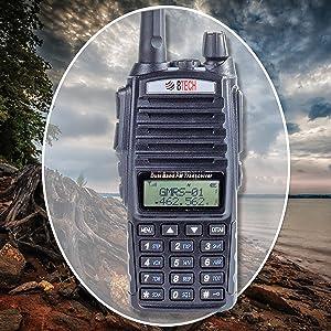 gmrs handheld radio btech gmrs-v1
