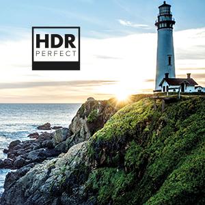 HDR PERFECT contrasto luminosità