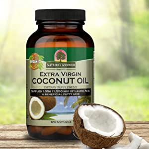 Nature's Answer, Coconut Oil, Extra Virgin, Organic