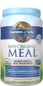 garden of life, raw organic meal,