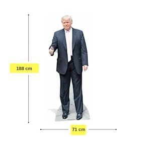 Donald Trump Altura