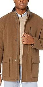 Plush Wool Top Coat