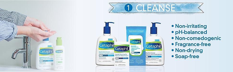 cleanse, cetaphil