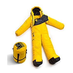 Dark Shaddow Selkbag Unisexs Lite Wearable Sleeping Bag with Arms and Legs Large
