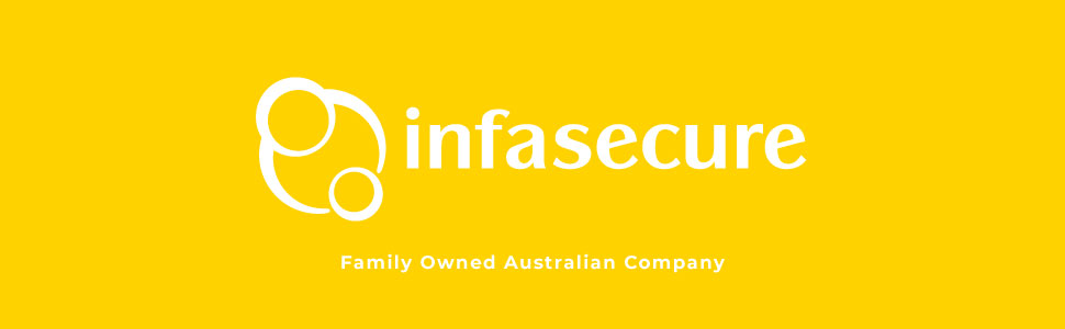 infasecure infa secure logo family owned australian company baby
