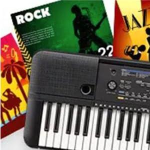 Yamaha YPT-260 - Teclado digital portátil para principiantes, 61 teclas y una amplia variedad de funciones y sonidos, color negro