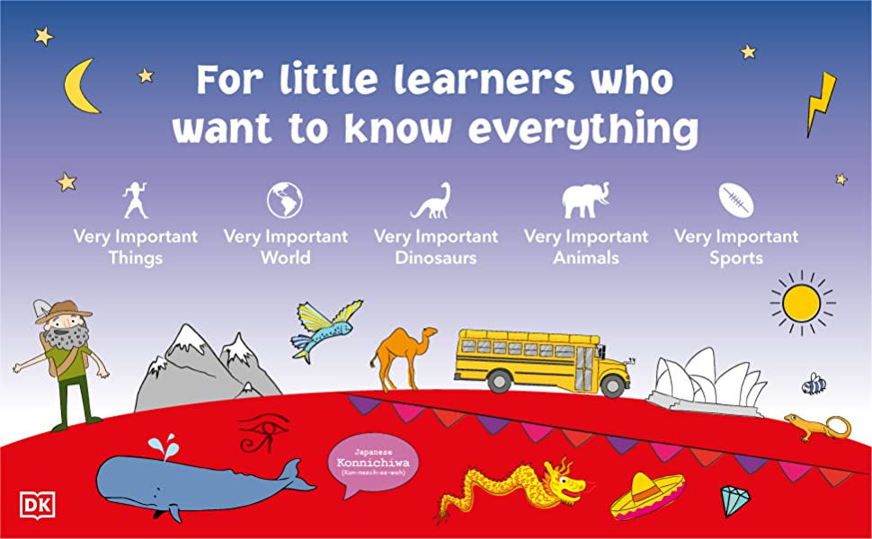 Kids encyclopedia for little learners who want to know everything