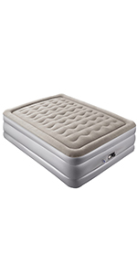 Amazon.com: Colchón hinchable de tamaño completo Sable con ...