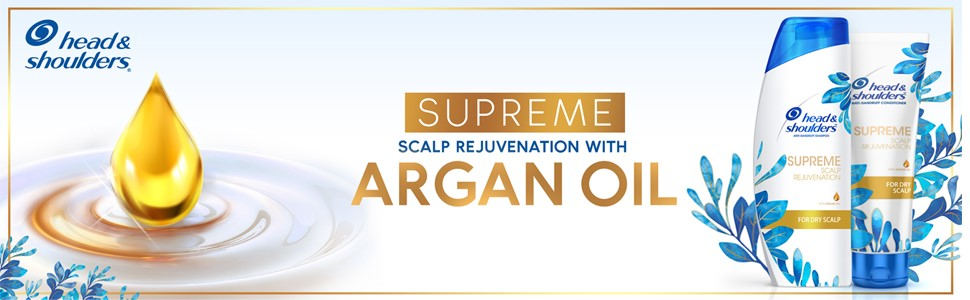 Head and shoulders supreme argan oil