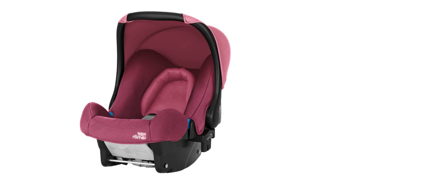 13 Monate I 0-13 kg I BABY-SAFE PLUS SHR II Autositz Gruppe 0 Britax R/ömer Babyschale Geburt I Storm Grey