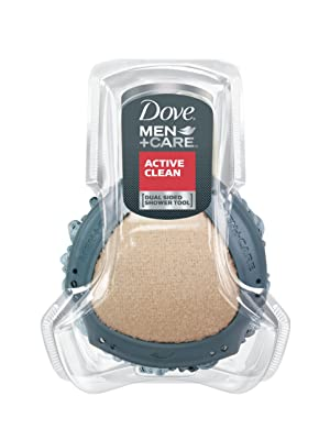 Dove Men+Care Shower Tool, Active Clean