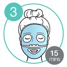 Hydrogelmasker; 48 uur hydratatie; zachte, gladde en frisse huid;