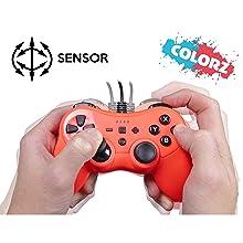 Mando controller para Nintendo Switch, con cable, Rojo: Amazon.es ...