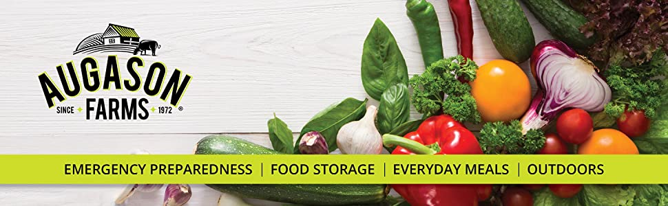 Augason Farms Emergency Preparedness Survival Bug Out Bag Grab and Go Food Supply Kit