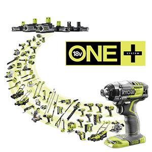 ONE+ system, cordless tools, 18V tools