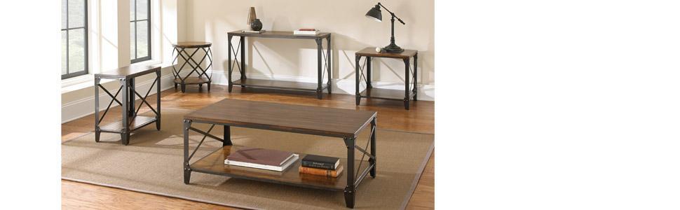 Amazon.com: Steve Plata Company Winston cóctel mesa: Kitchen ...