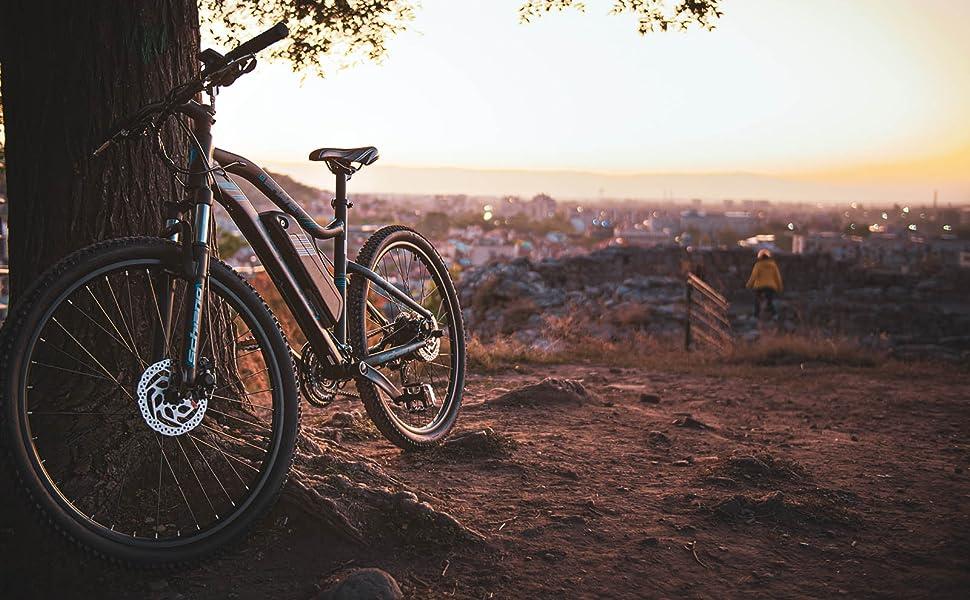 F.lli Schiano Braver Bicicleta eléctrica, Adultos Unisex, Negro-Azul, 27.5: Amazon.es: Deportes y aire libre
