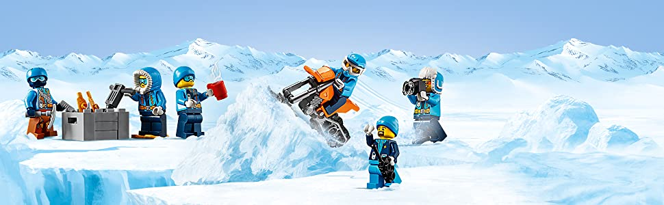 lego, city, artic