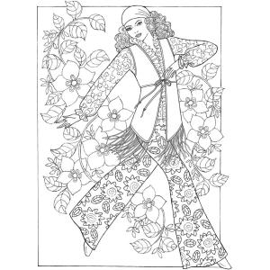 Amazon.com: Adult Coloring Book Creative Haven Fabulous