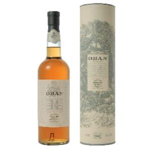 Oban 14 Años – Whisky puro de malta de las Tierras Altas de Escocia   (Pronunciación: Oben)