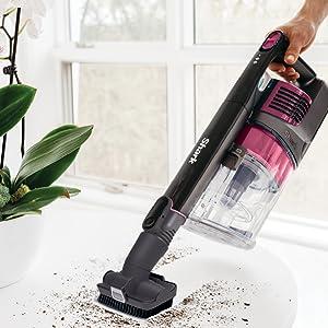 hand vacuum, handheld vacuum, hand vac, removable handheld, above floor cleaning