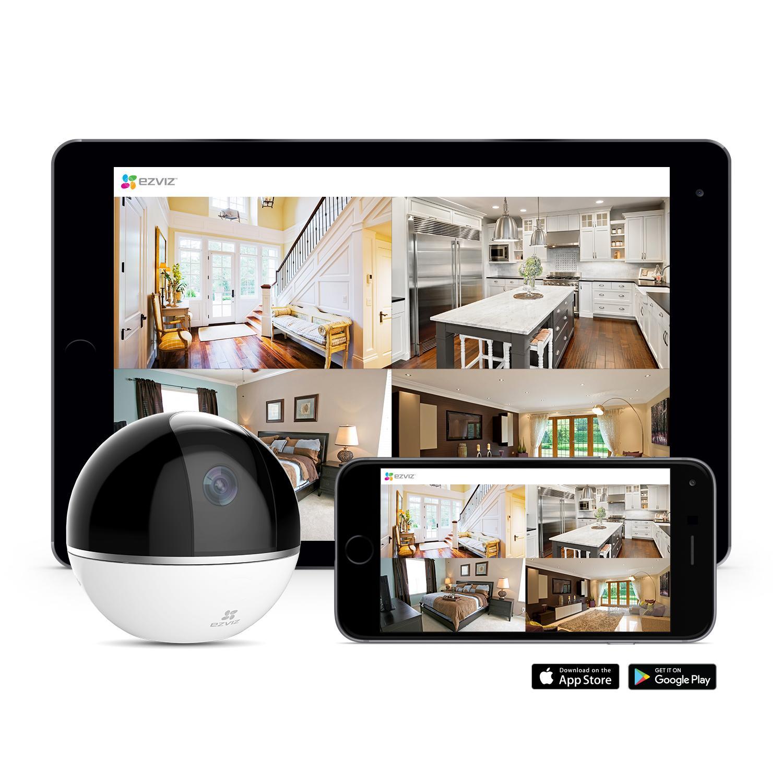 Amazon Com Ezviz Mini 360 Plus 1080p Hd Pan Tilt Zoom