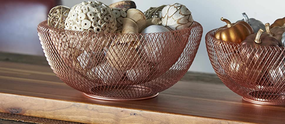 Decorative bowls, fruit bowls, home decor