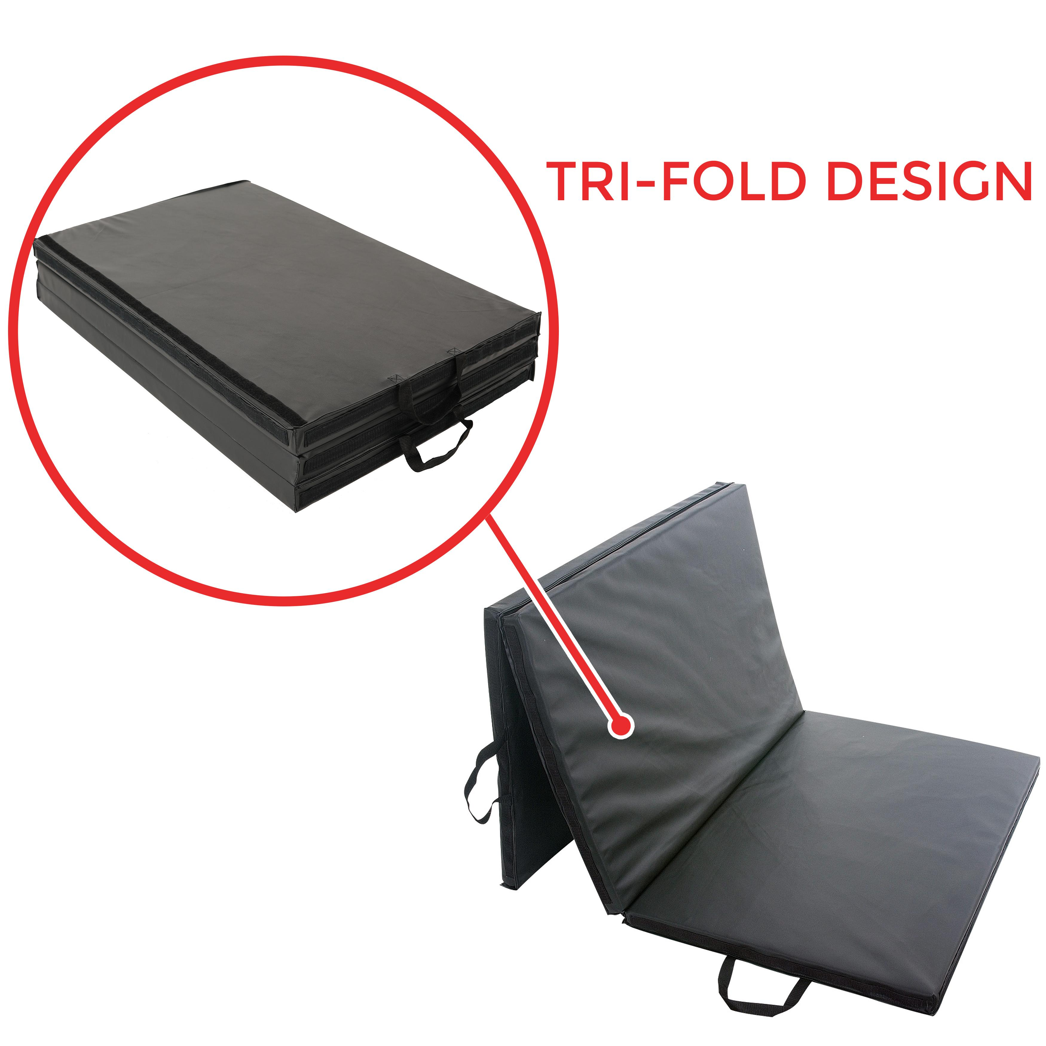 Amazon.com : Sunny Folding Gym Mat : Exercise Mats