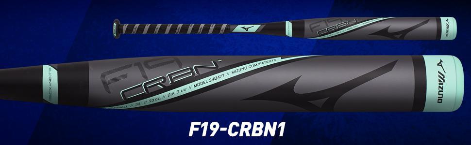 Amazon.com   Mizuno F19 Carbon 1 Fastpitch Softball Bat   Sports ... a1d21b85c7