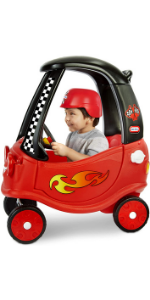 Little Tikes Racing Cozy Coupe Themed Role Play Ride-On Toy