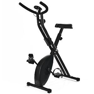 T-LoVendo TLV-XB01. Bicicleta estática Plegable Tipo X, vista general.