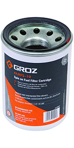 Groz 45577 Fuel Control Diesel Nozzle Automatic Curved 15