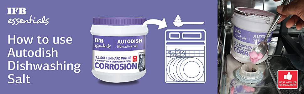IFB Autodish Salt Dishwasher