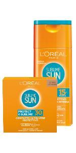 abbronzatura intensa, sublime, protezione solare sublime