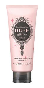 ロゼット洗顔パスタ,クレイシリーズ,白泥リフト