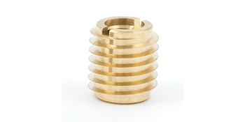 Threaded inserts for wood, thread inserts, brass inserts for wood