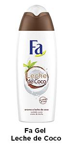 Fa - Gel de Ducha Leche de Coco - Con extracto de coco ...